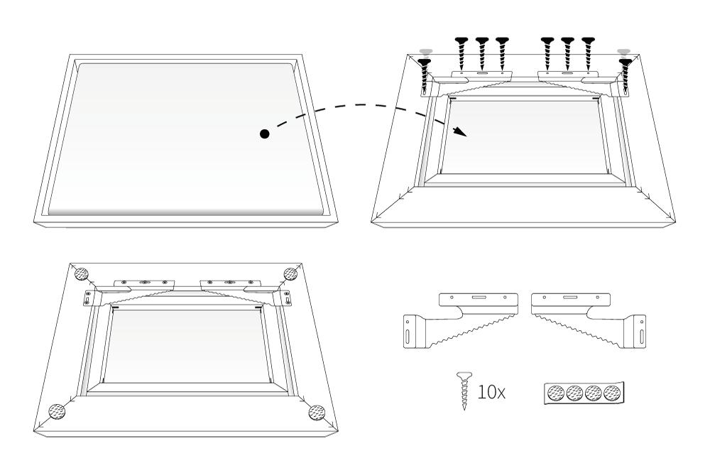 Tipos de soportes colgadores