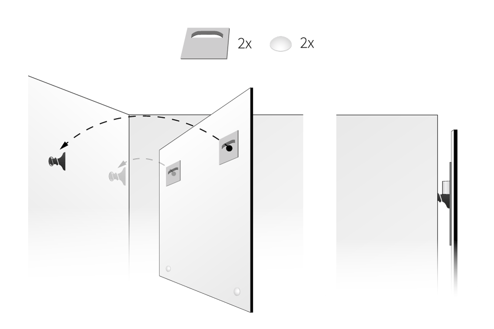 Tipos de soportes colgadores for Colgadores de cuadros
